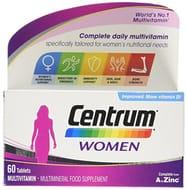 Multivitamin Tablets for Women, 60 Tablets