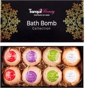 Luxurious Bath Bomb Spa Gift Set with Relaxing Essential Oils