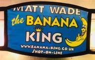 Win 1 of 2 Reusable Banana King Face Masks!