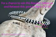 Win a Black and White Ropelet!