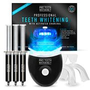 Premium Teeth Whitening Kit with Activated Charcoal