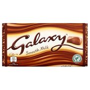 Galaxy Smooth Milk Chocolate Block 110 Grams