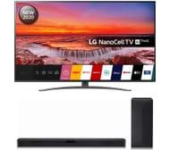 "LG 65"" Smart 4K Ultra HD HDR LED TV & SN4 2.1 Wireless Sound Bar Bundle"