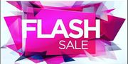 Flash Sale One Weekend Only up to 50% Off