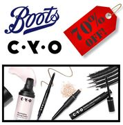 70% off CYO Cosmetics at Boots