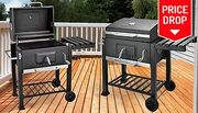 Charcoal Barbecue Grill with Thermometer