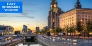 £109 2-Night Central Liverpool Aparthotel Break, 53% Off