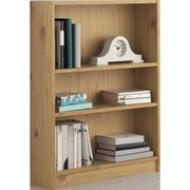 Argos Home 2 Shelf Small Bookcase - Oak Effect