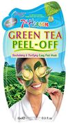 7th Heaven Green Tea Easy Peel off Face Mask with Crushed Ginger and Lemon