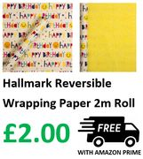 Hallmark Reversible Wrapping Paper, 2m Roll, *4.9 STARS*