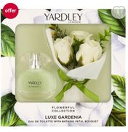 Yardley London Luxe Gardenia Eau De Toilette 50ml Gift Set