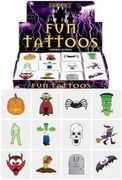 CHEAP! 24 Halloween Tattoos / Transfers Trick or Treat Party Bag Fillers
