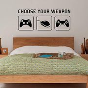 """4.2 out of 5 stars171Reviews Radecal """"CHOOSE YOUR WEAPON""""vinyl"""