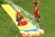 16ft 2-in-1 Water Slide with Vertical Sprinkler