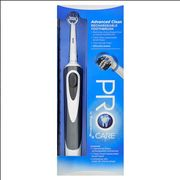 ProCare Advanced Black Rechargeable Electric Toothbrush