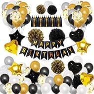 Okany 98 Pcs Party Decorations Kit HAPPY BIRTHDAY Banner
