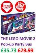 BETTER THAN HALF PRICE! LEGO Movie 2 Pop-up-Party Bus