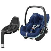 Maxi Cosi Pebble Pro Group 0+ Car Seat with FamilyFix3 Base-Essential Blue