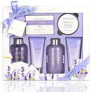 Bath and Body Gift Set - Luxurious 6 Pcs Bath Kit for Women