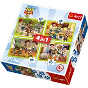 Toy Story 4 - 4in1 Puzzle - Store Collection Only