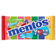 Mentos: Rainbow (Case of 28 X 4 Packs)