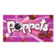 Poppets Juicy Raisins (36 X 38g Boxes)