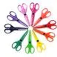 Assorted Paper Edger Scissors 10 Pack