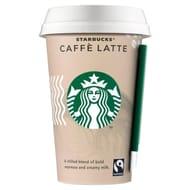 2 X Starbucks Fairtrade Caff Latte 220ml