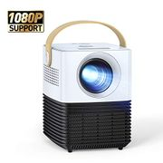 Deal Stack! APEMAN Portable Projector LCD, Support 1080P Full HD