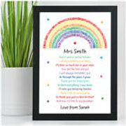 Personalised Lockdown Teacher Gift from £4.95 Delivered