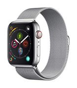 *SAVE over £295* Apple Watch Series 4 (GPS + Cellular, 44mm) - S/Steel