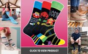 Win Socks !! Enter Once for All Weekly Draws !