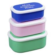 Yes Studio 'Snaccident' Snack Boxes Set of 3
