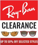 Special Offer - Ray-Ban Up To 50% Off Sunglasses Clearance + Free Delivery