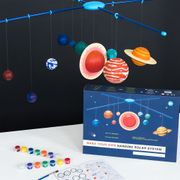 Make Your Own Hanging Solar System at Rexlondon