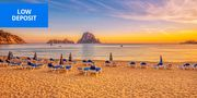 £155pp Ibiza: 4-Night Break Inc Flights & Meals