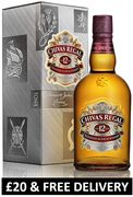 Chivas Regal 12 Year Old Blended Scotch Whisky - £20 & FREE DELIVERY