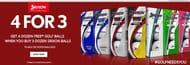 Buy 4 Dozen Srixon Balls for the Price of 3