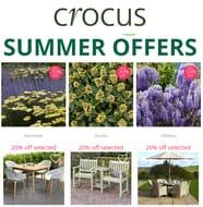 CROCUS Gardening & Garden Furniture - SUMMER OFFERS