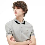 Men's Lacoste Regular Fit Contrast Accents Stretch Pima Piqu Polo Shirt