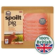Spoiltpig Smoked Dry Cured Back Bacon Rashers 184g