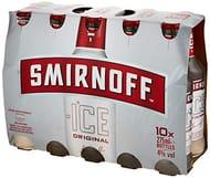 10x 275ml Bottles of Smirnoff Ice