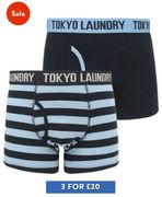 Tokyo Laundry - 6 Pairs Of Boxer Shorts For £20