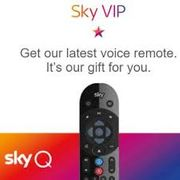 Free Sky Q Voice Activated Remote Control with Sky VIP