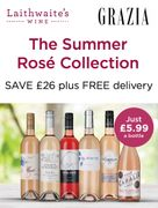 Grazia Wine Club Best Summer Ross from Just £5.99 per Bottle!