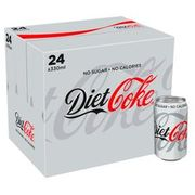 Save £1 Was £8 Now £7 Diet Coke 24 X 330 Ml Pack