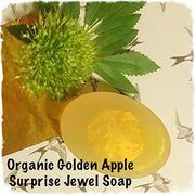 ORGANIC JEWELLERY SURPRISE SOAP Organic, Goats Milk, Various Fragrances