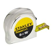 STANLEY Powerlock Tape, 5m/16ft [Energy Class A]