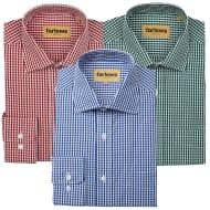Farlows Poplin Gingham Shirt