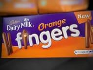 *NEW* Orange Flavoured Dairy Milk Fingers 114g